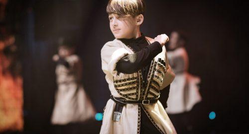 יוטאלנט 2020 רקדן גרוזיני